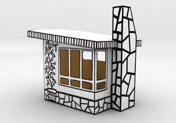 Spunti divertenti per ecologiche casette fai da te - Costruire una casetta di cartone per bambini ...