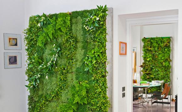 Il verde in door ferretticasa - Pareti verdi per interni ...