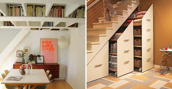Occupare gli spazi al meglio e in modo divertente - Scale ad angolo ...